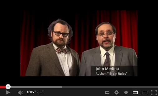 John Medina Brain Rules Schema